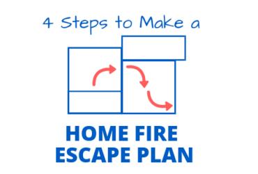 4 Steps to Make a Home Fire Escape Plan
