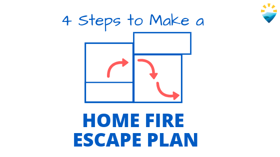 4 Steps to Make a Home Fire Escape Plan