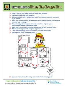 Home Fire Escape Plan Image